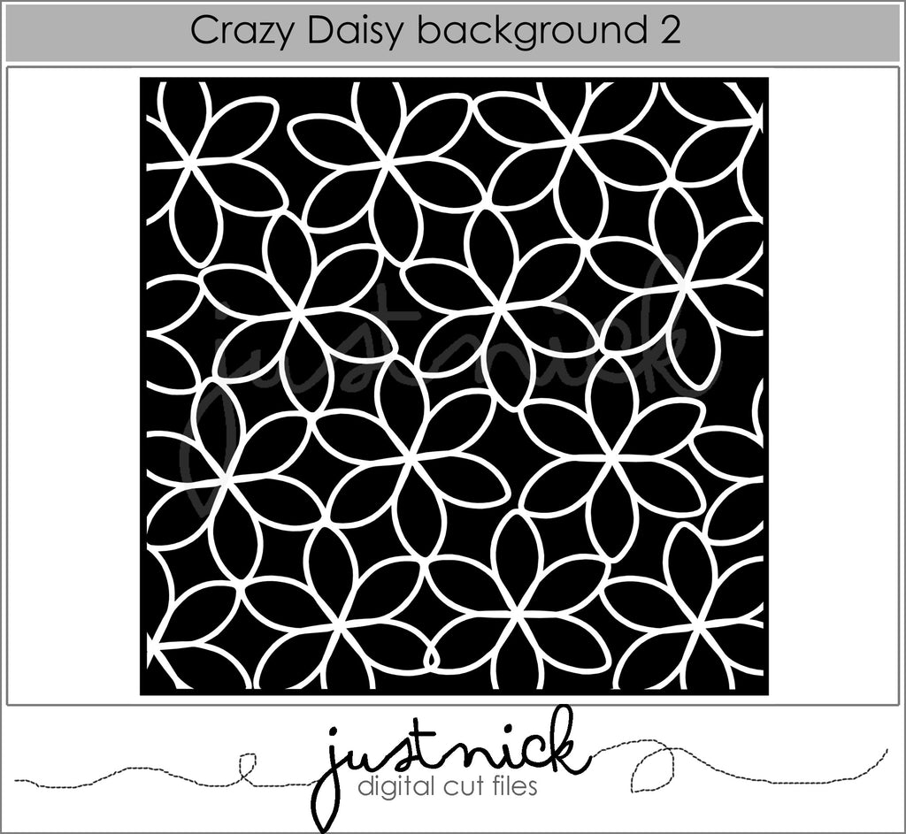 Crazy Daisy Background 2