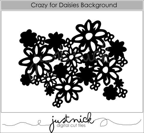 Crazy for Daisies Background