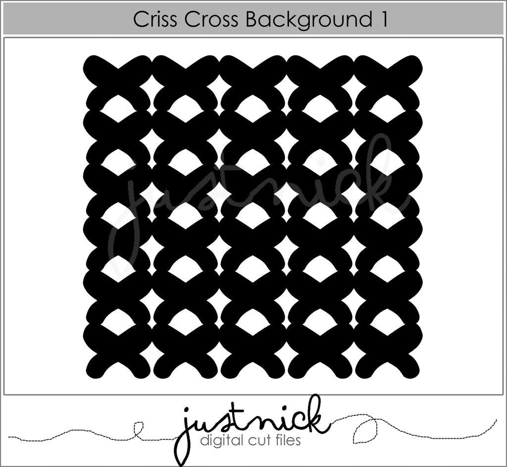 Criss Cross background 1