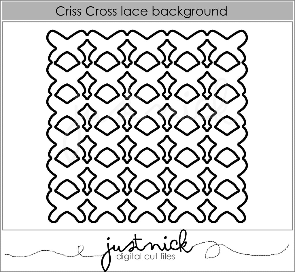 Criss Cross Lace Background