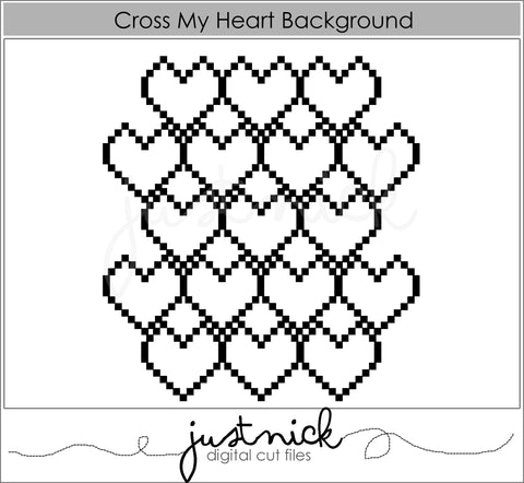 Cross My Heart Background