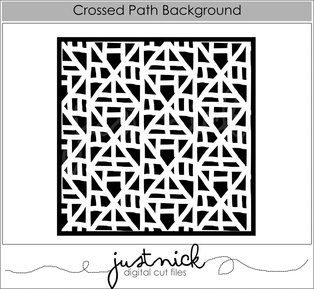 Crossed Path Background