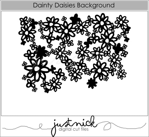 Dainty Daisies Background
