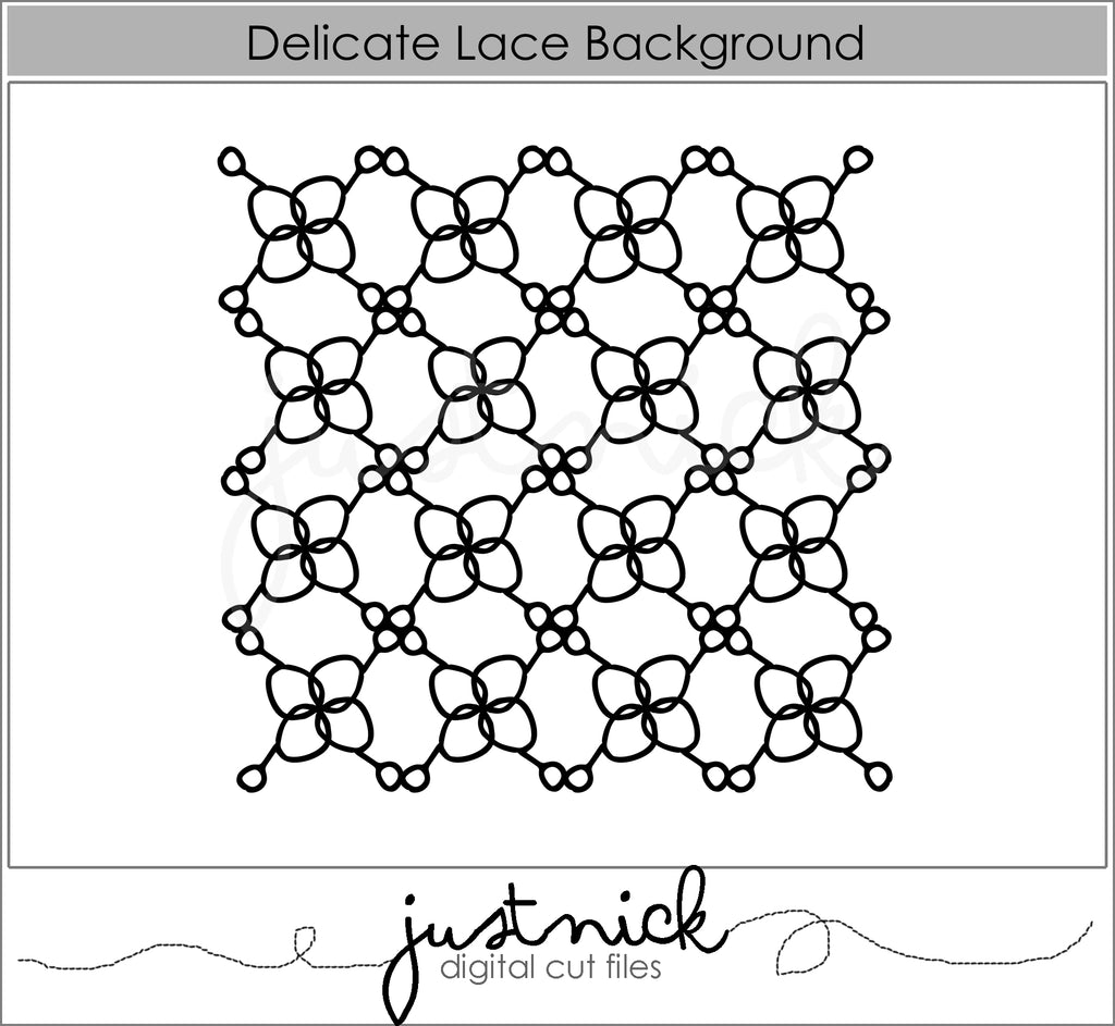 Delicate Lace Background