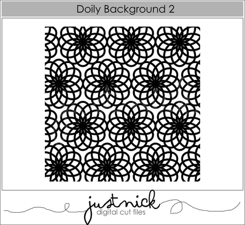 Doily Background 2