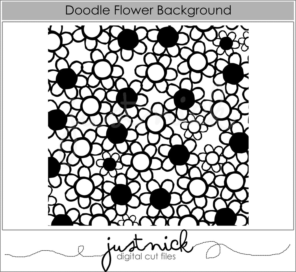 Doodle Flower Background