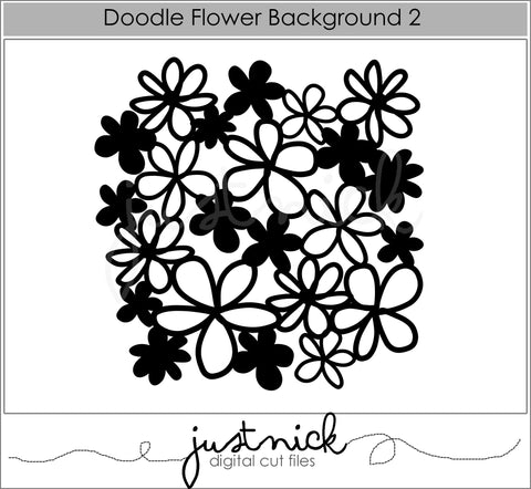 Doodle Flower Background 2