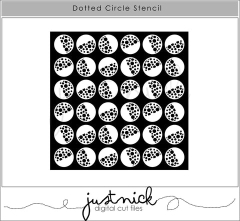 Dotted Circle Stencil