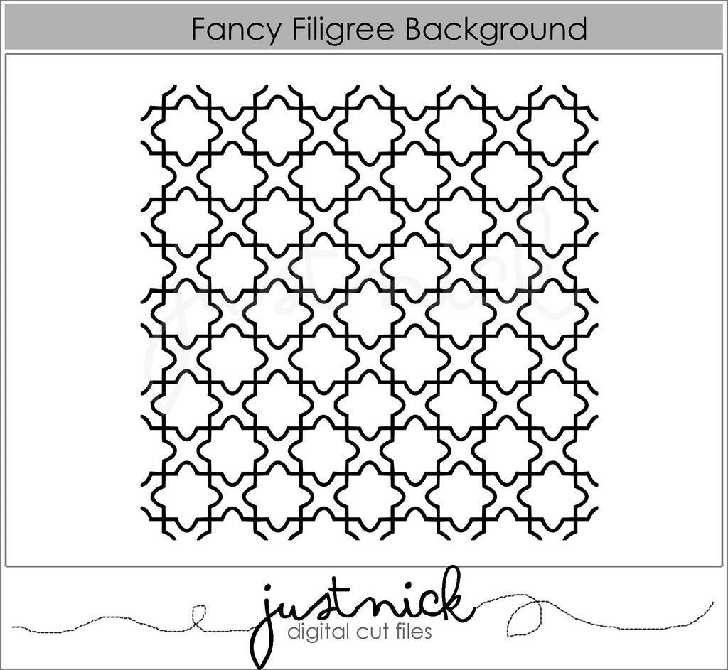Fancy Filigree Background