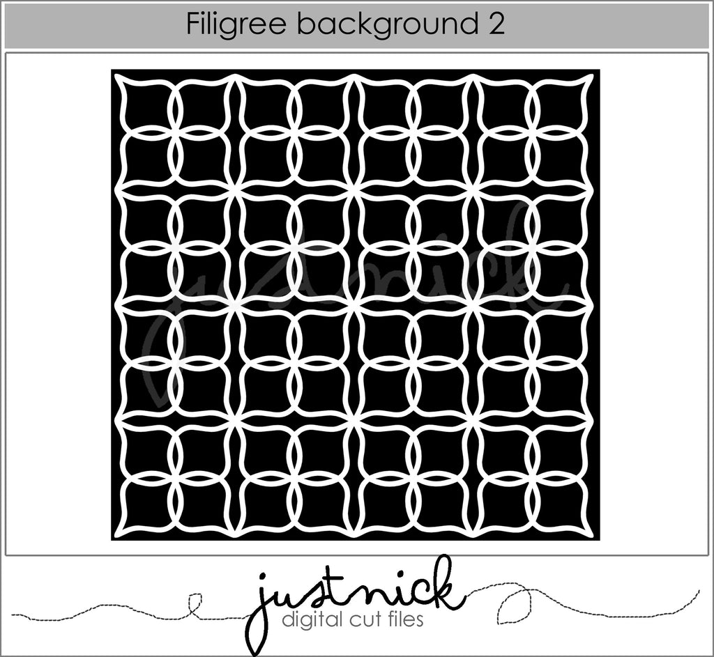 Filigree Background 2