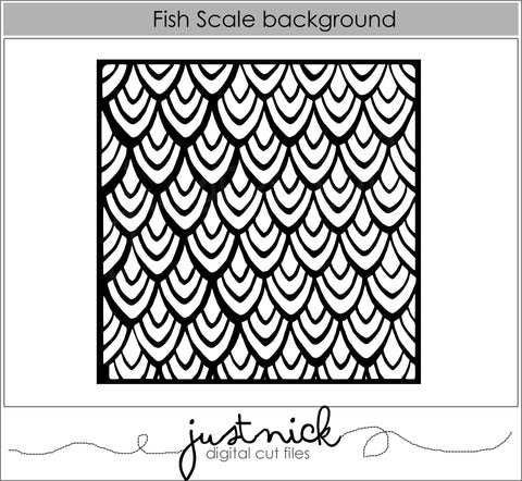 Fishscale Background