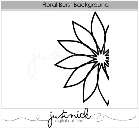 Floral Burst Background