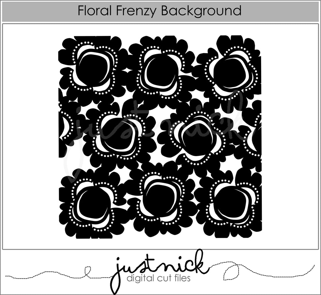 Floral Frenzy Background