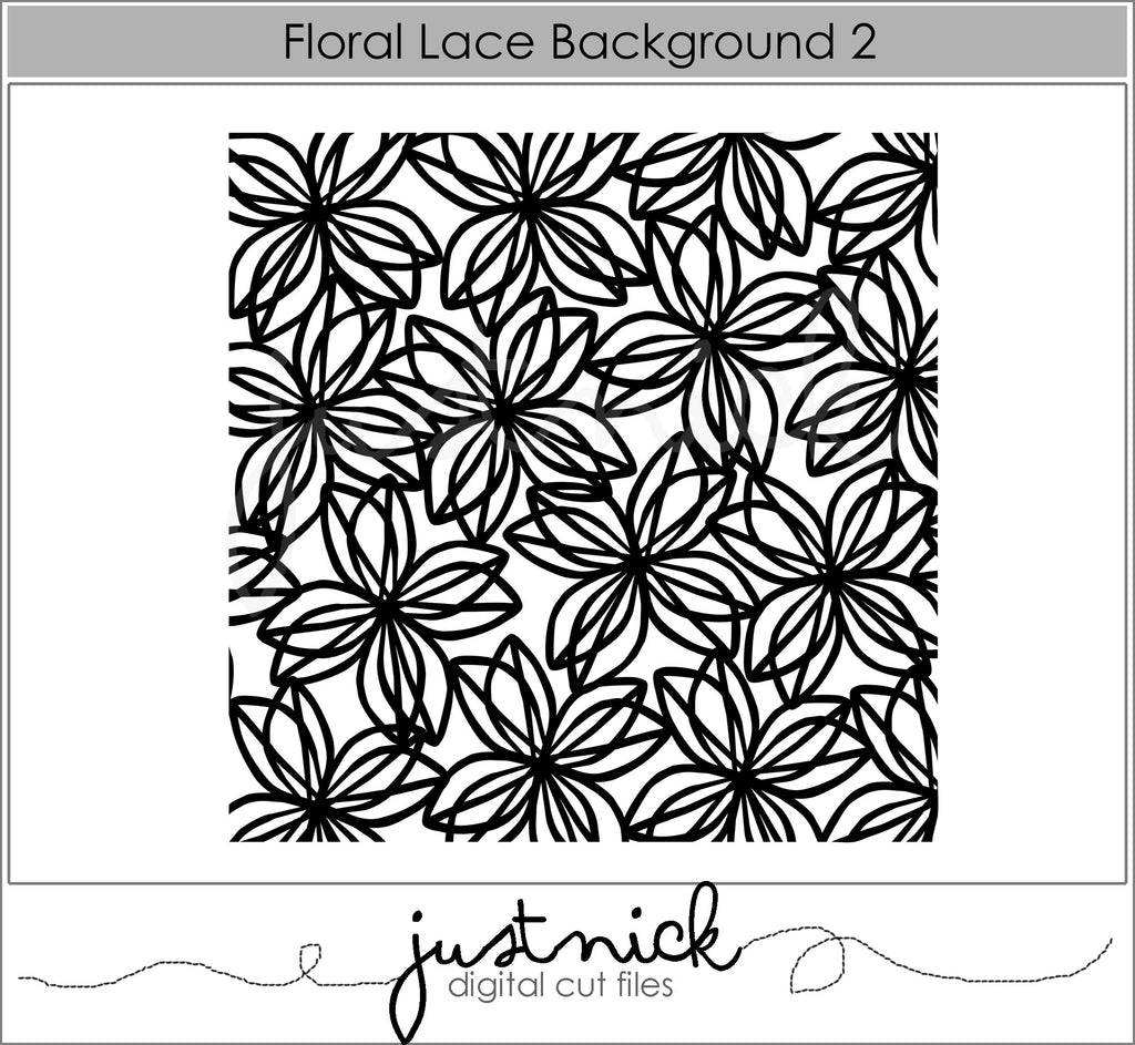 Floral Lace Background 3