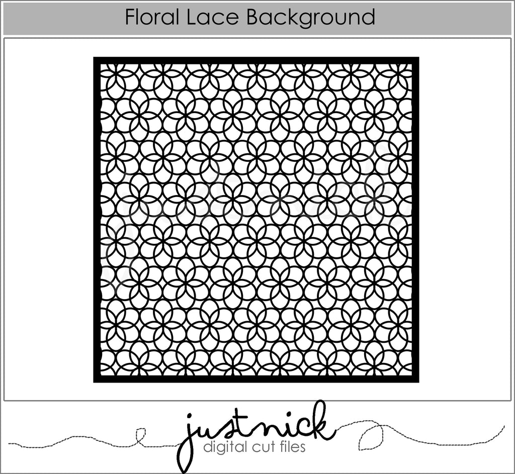Floral Lace Background 2