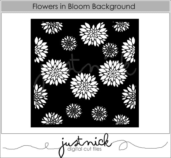 Just Nick Studio - Flowers in bloom background