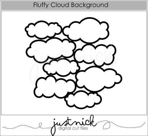 Fluffy Cloud Background