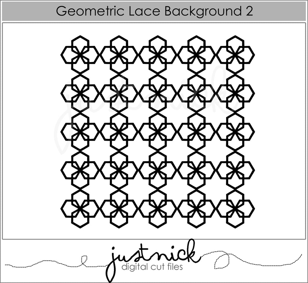 Geometric Lace Background 2