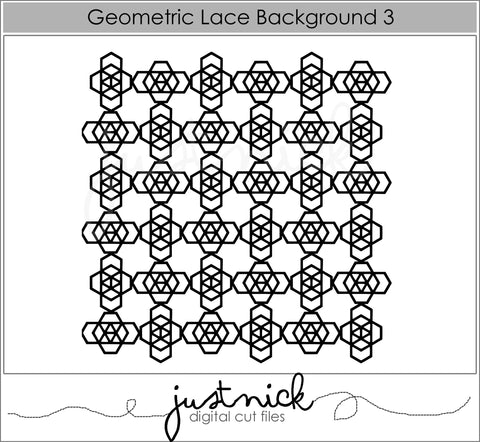 Geometric Lace Background 3