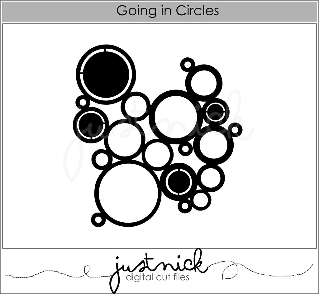 Going in Circles Background