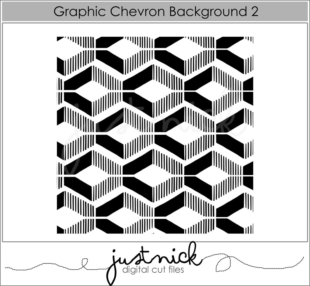 Graphic Chevron Background 2