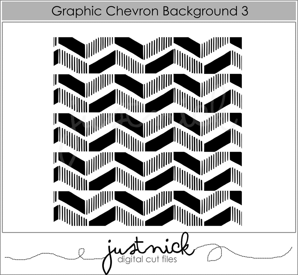 Graphic Chevron Background 3