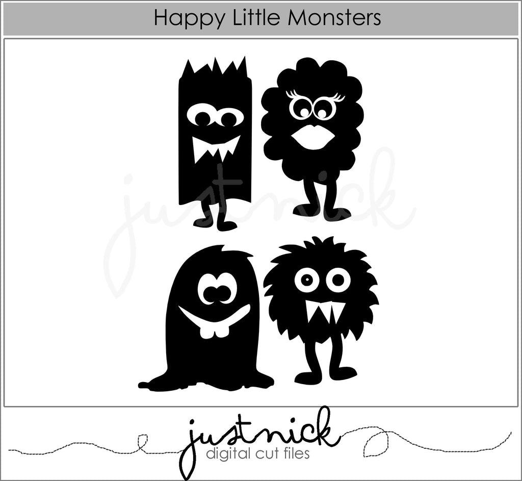 Happy Little Monsters