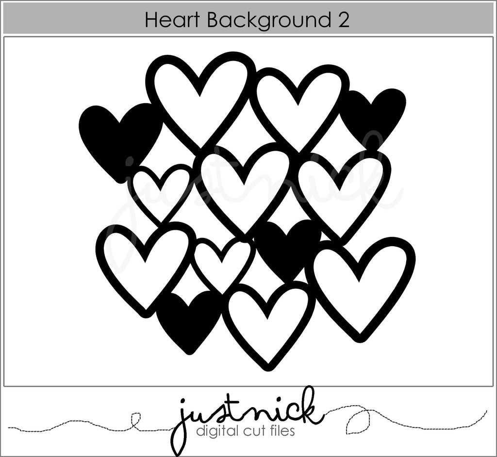 Heart background 2
