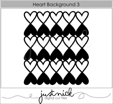 Heart background 3