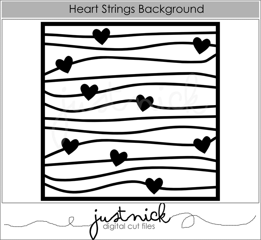 Heart Strings Background