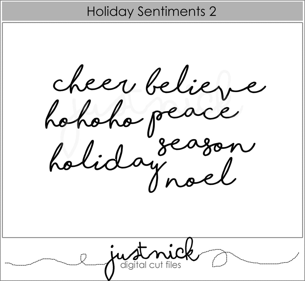 Holiday Sentiments 2