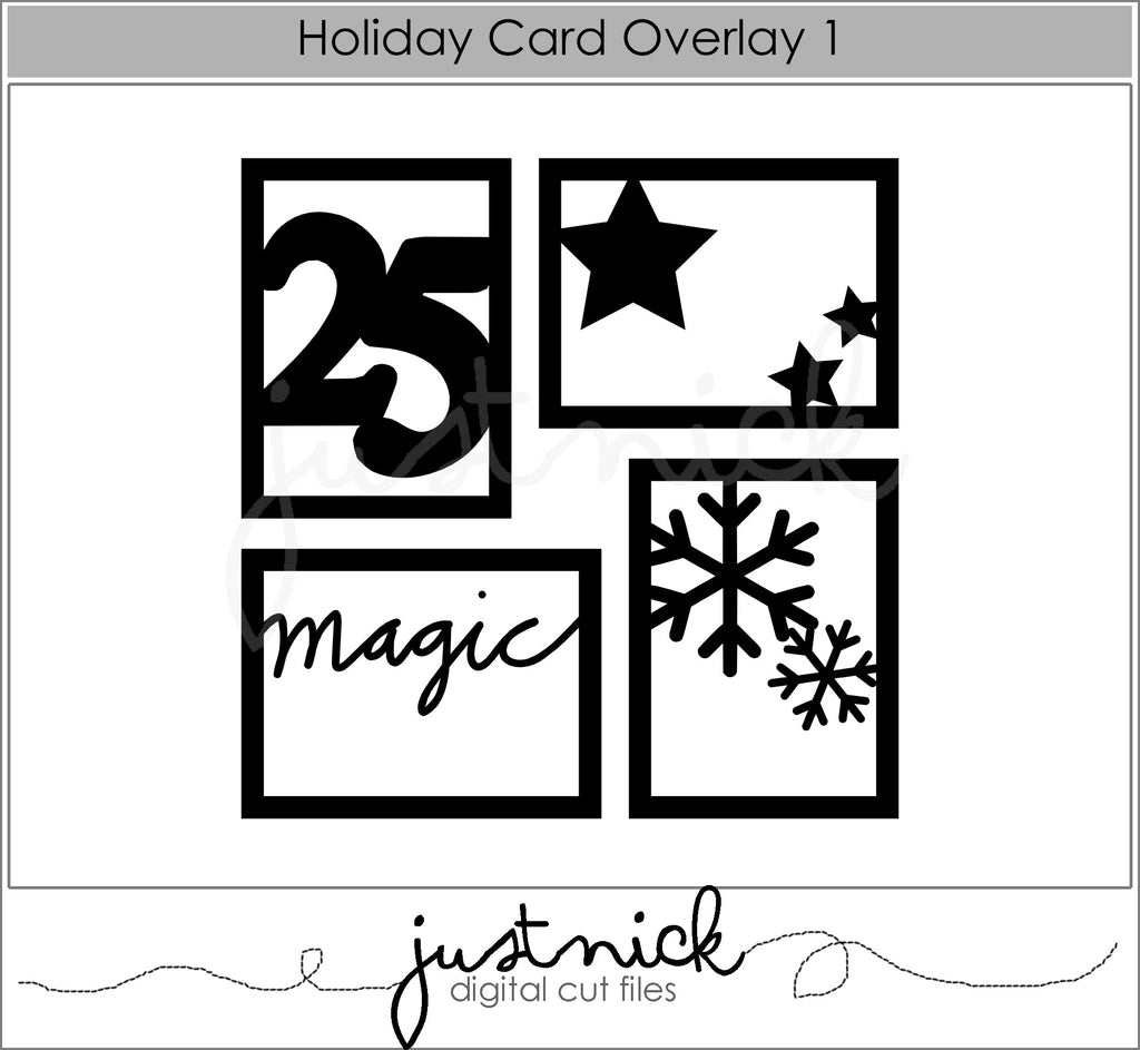 Holiday Card Overlay 1