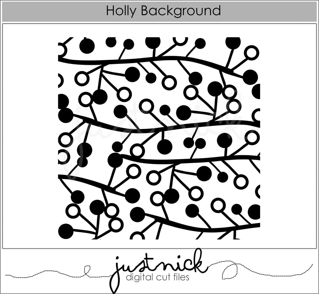 Holly Background