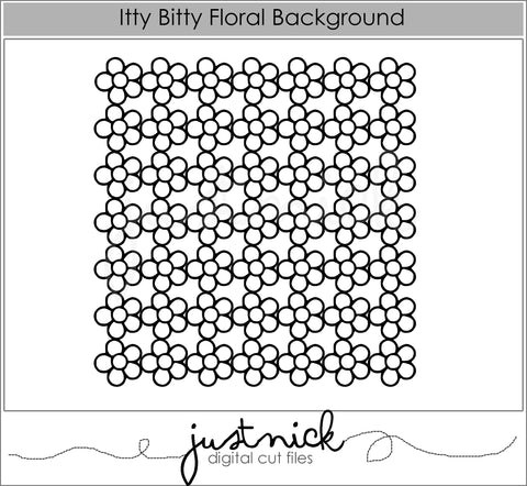 Itty Bitty Floral Background