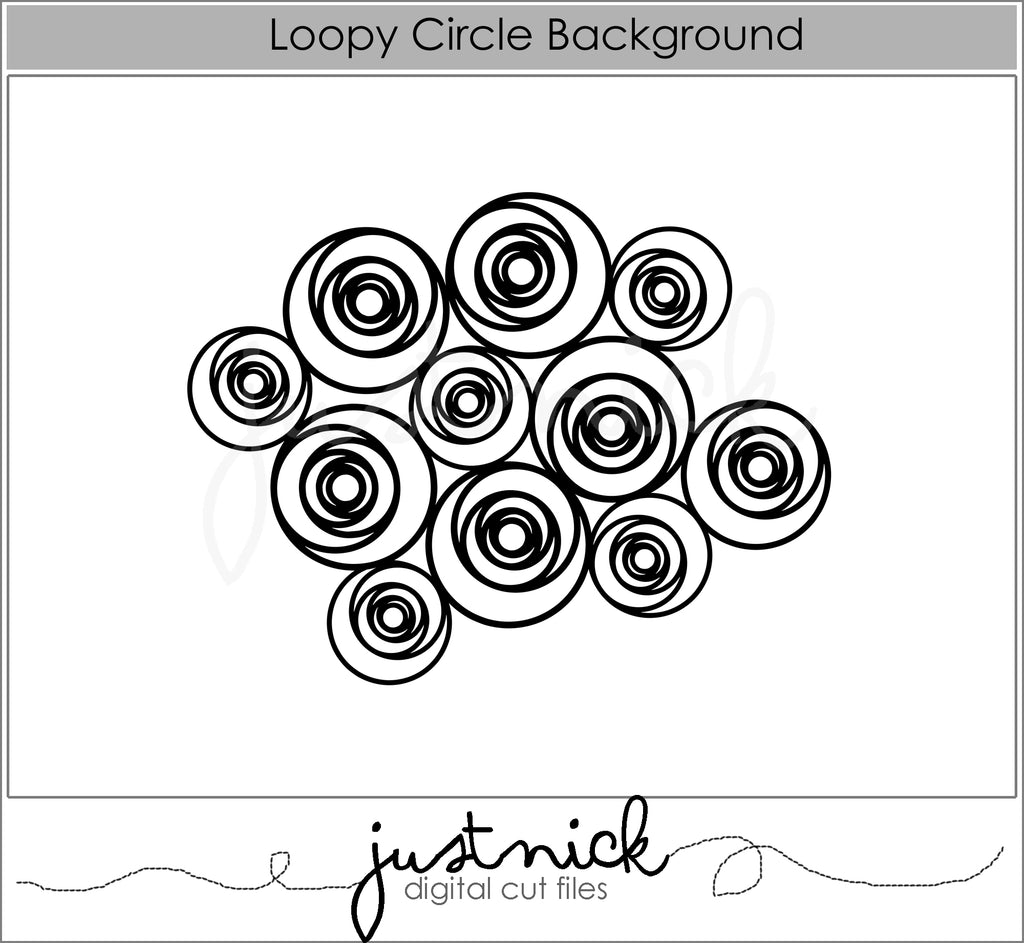 Loopy Circle Background