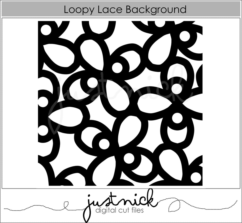 Loopy Lace Background