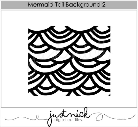 Mermaid Tail Background 2