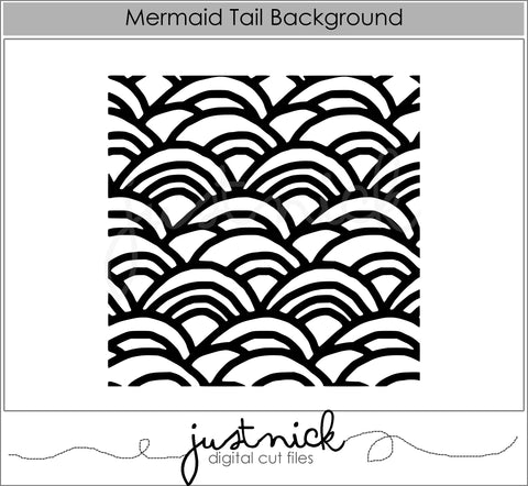 Mermaid Tail Background
