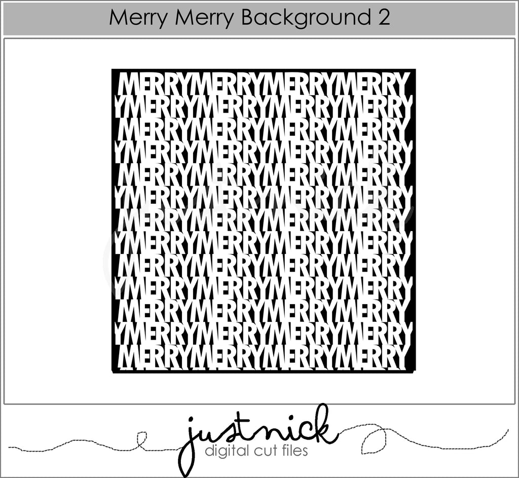 Merry Merry Background 2