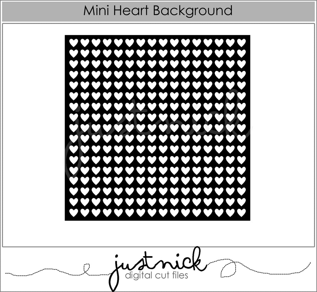 Mini Heart Background