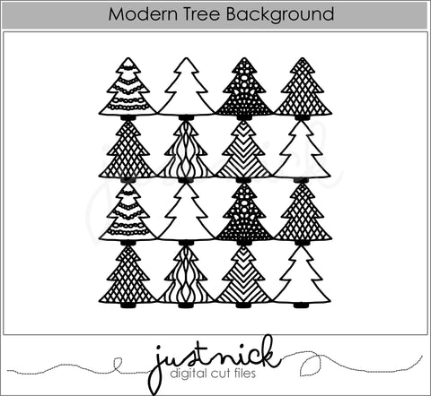 Modern Tree Background
