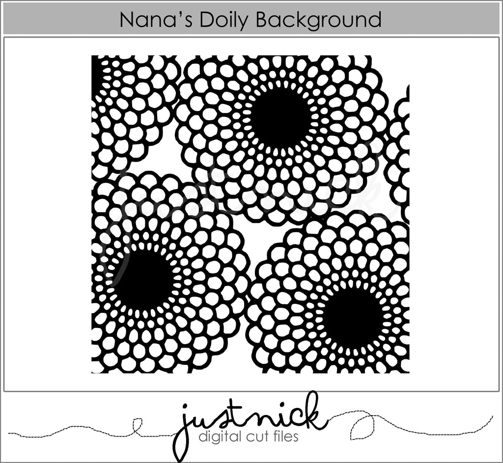 Nana's Doily Background