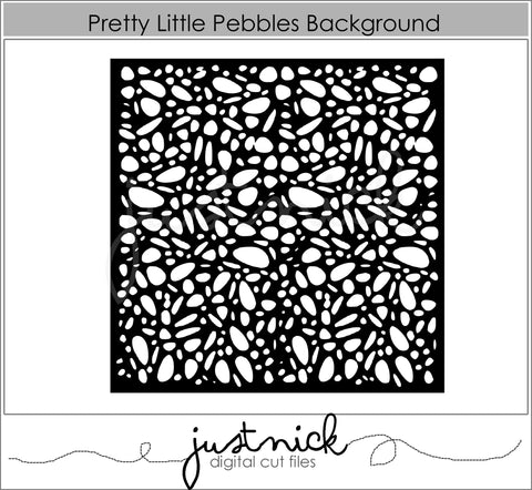 Pretty Little Pebbles Background