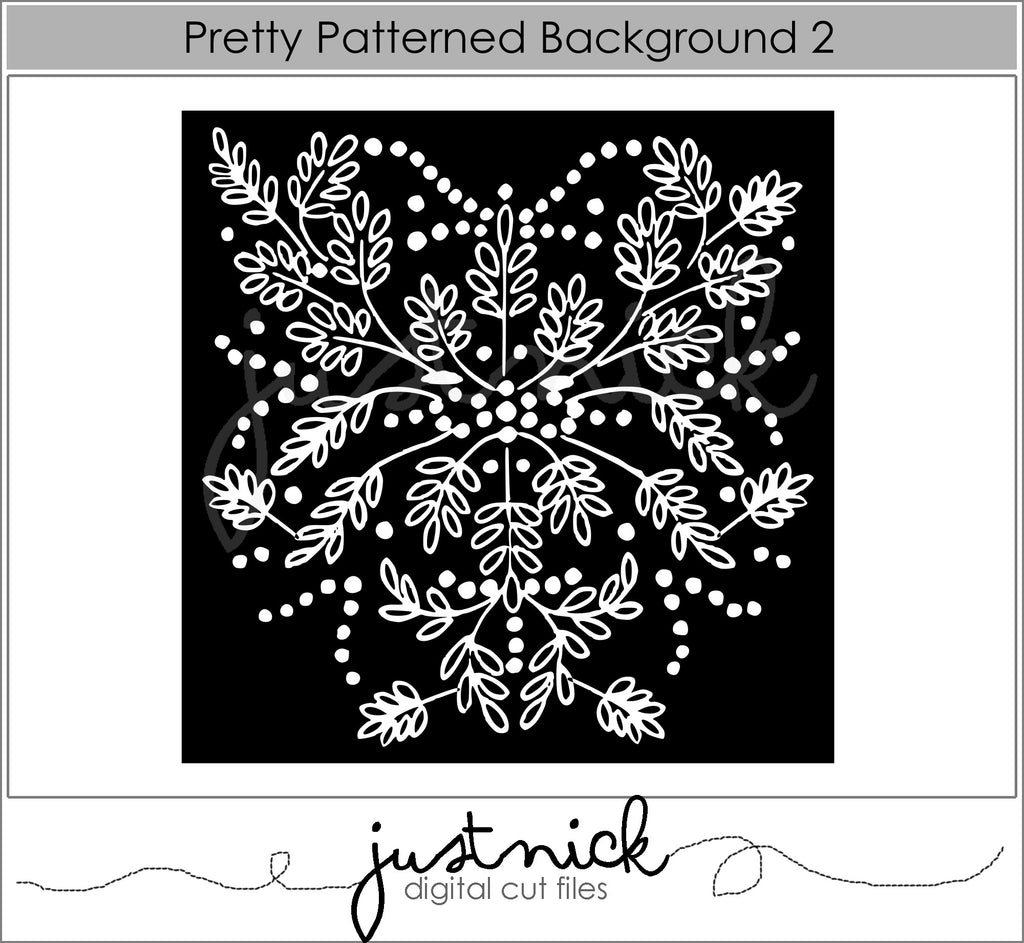 Pretty Patterned Background 2