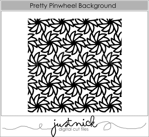 Pretty Pinwheel Background