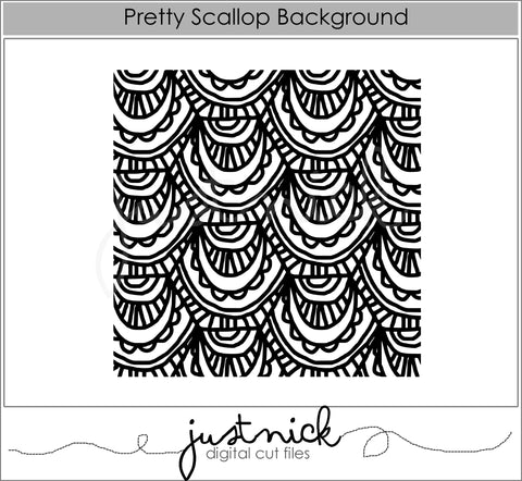 Pretty Scallop Background