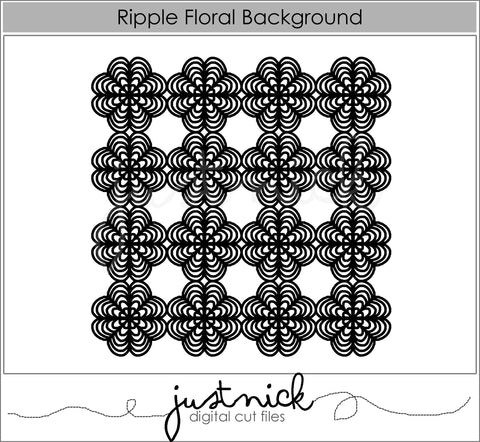 Ripple Floral Background
