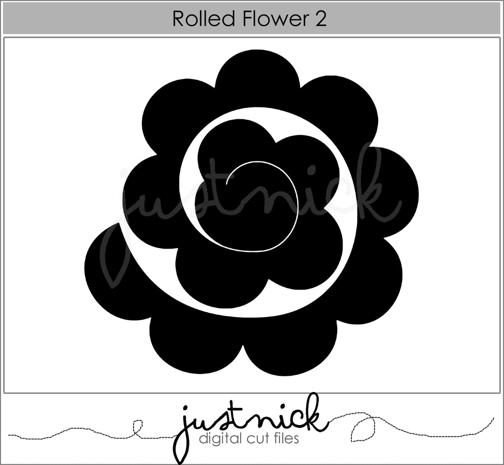Rolled Flower 2