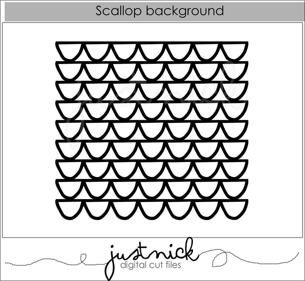 Scallop Background