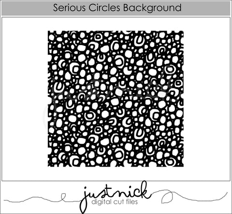 Serious Circles Background